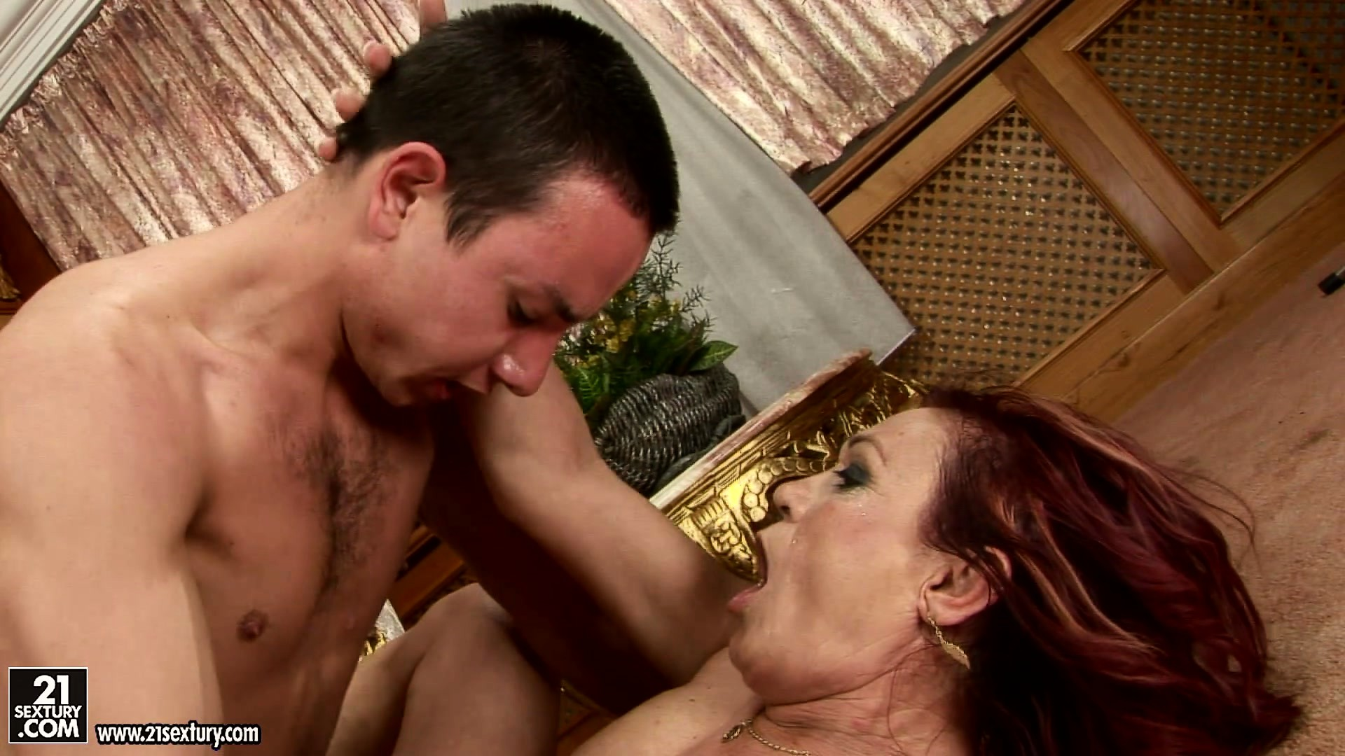 Porn Tube of Hairy Guys Bends Down And Has His Ass Licked By Chubby Mature Babe
