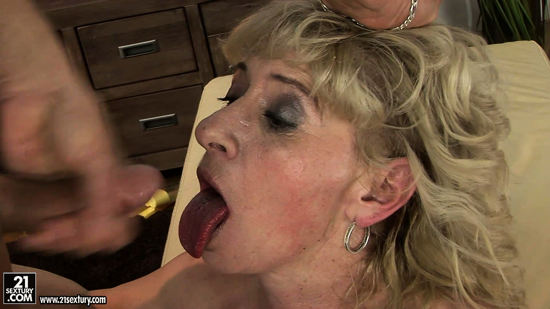 Porn Tube of She Rides Him And Gets Face Fucked And Then Sucks Out His Cum
