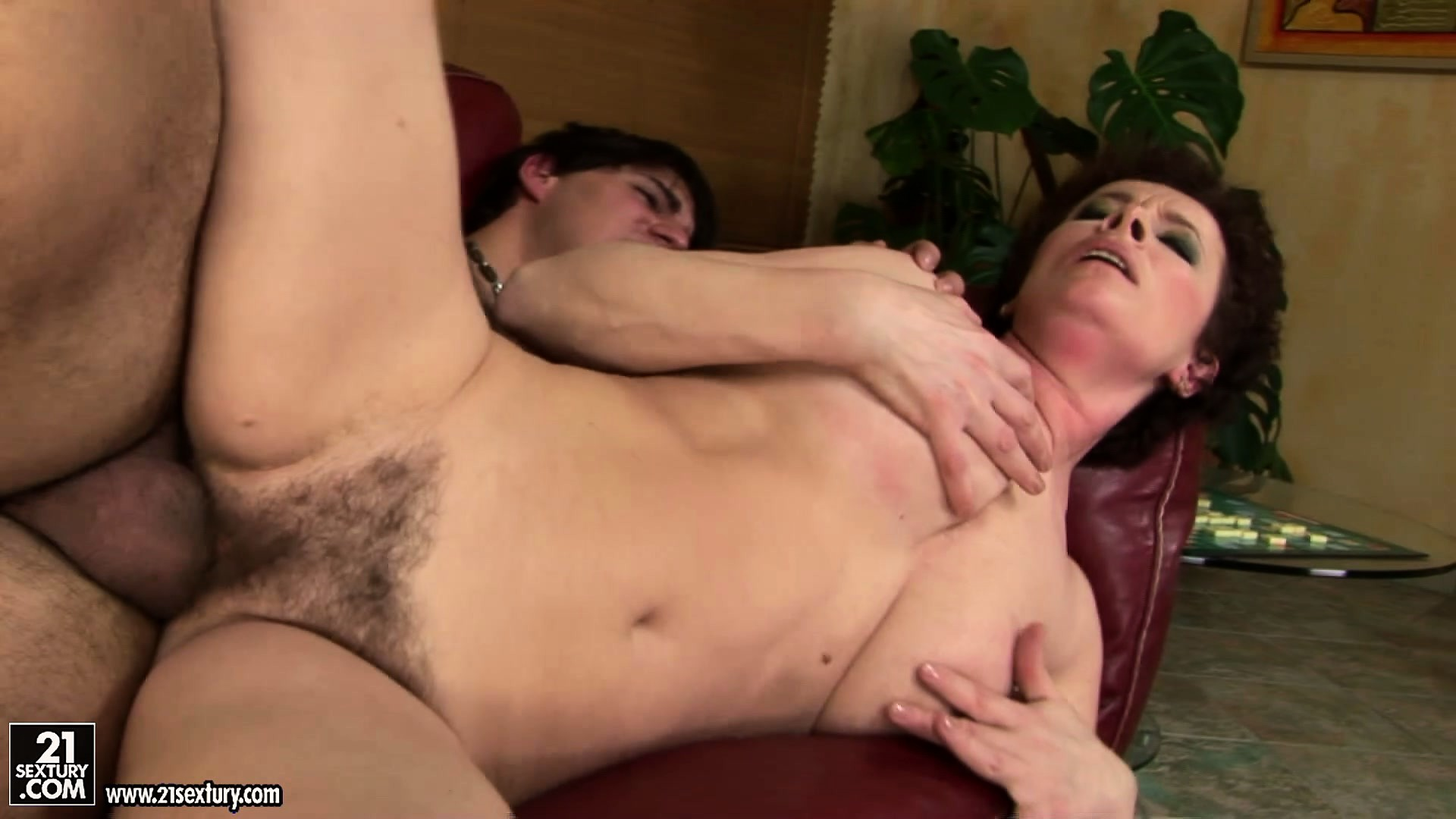 Porno Video of It's Fun For The Pupil When He Gets To Hammer The Teacher's Hairy Snatch