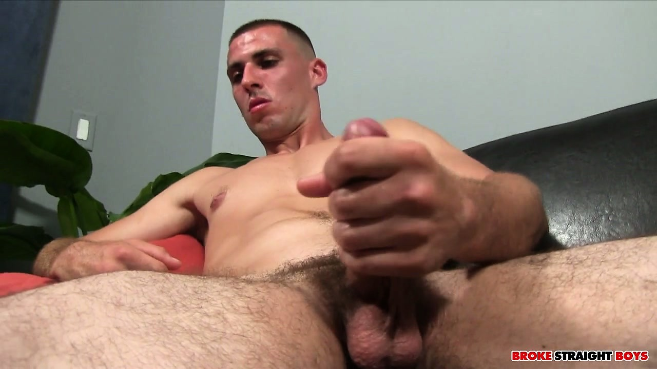 Porno Video of Oliver Jerks His Big Shaft Until It Explodes With Intense Pleasure