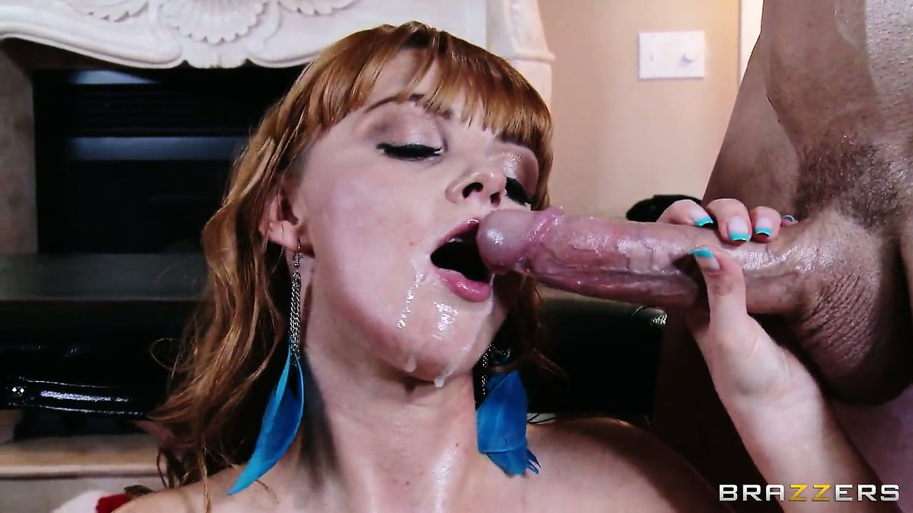 Porn Tube of This Kinky Babe Gets Her Face Covered In The Spirit Of Christmas