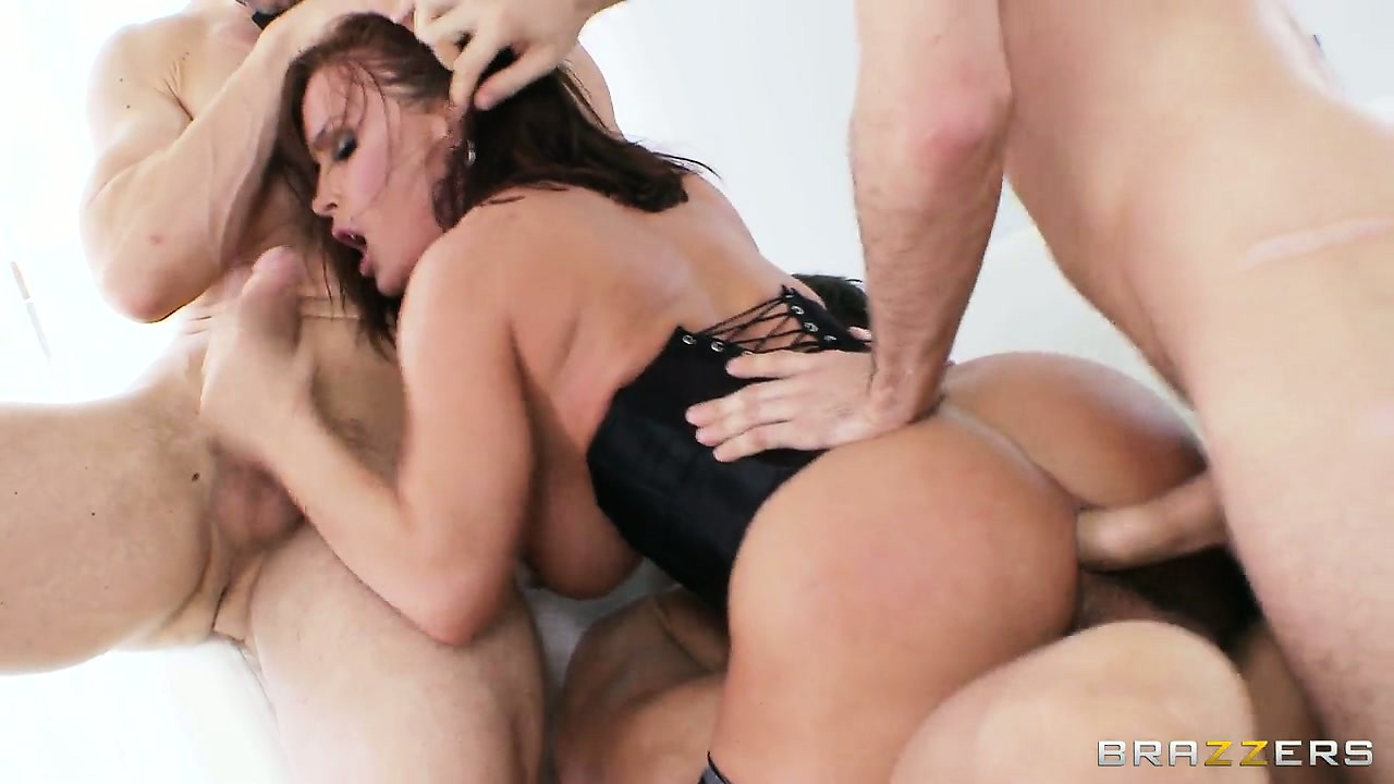 Porno Video of Diamond's Birthday Gangbang Is The Best Present Ever With Hardcore Triple Penetration