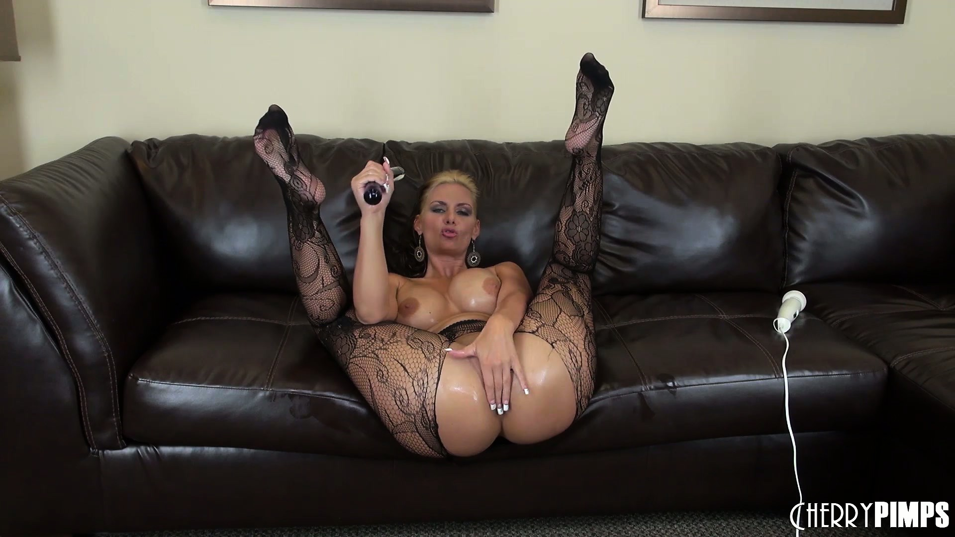 Porno Video of Phoenix Marie Has Huge Oily Hooters And Looks Hot In Her Sexy Lacy Stockings