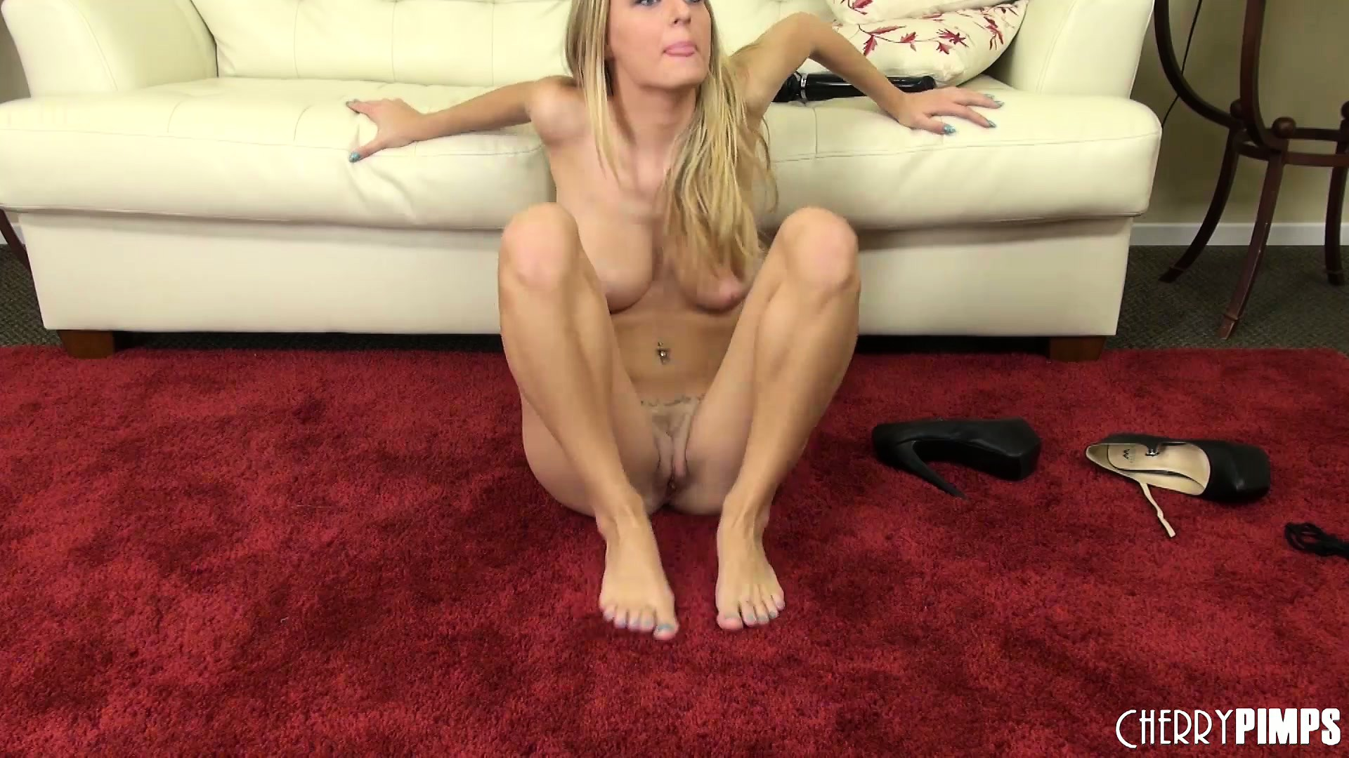 Porno Video of Natalia Spreads Her Sexy Body Across The Room Playing With Her Juicy Peach