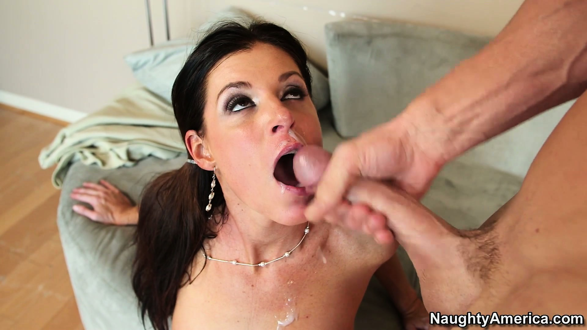 Porn Tube of India Summer Is A Pretty, Brunette Princess That Likes His Creamy Vanilla Treat