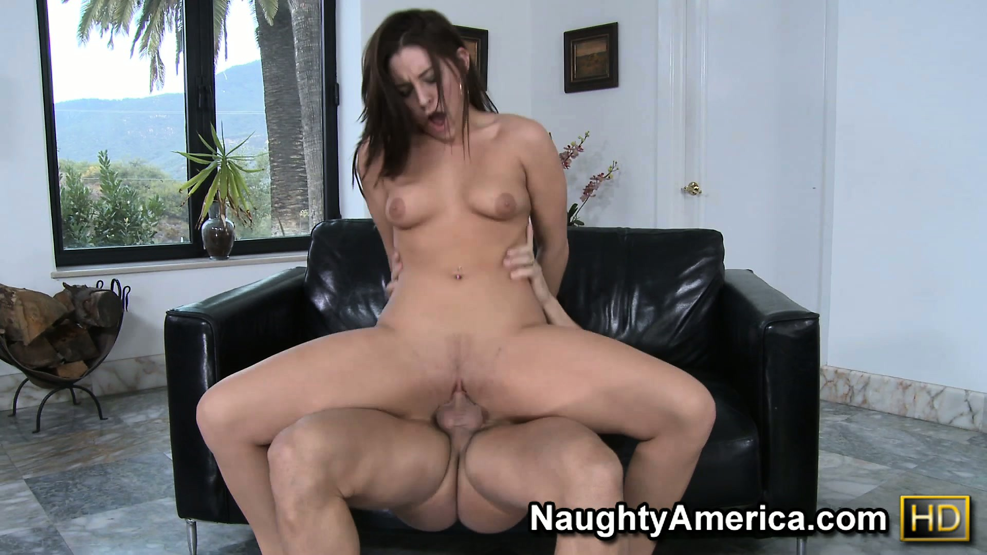 Porno Video of Sexy Brunette Gracie Glam Gives Up Her Tight Twat For A Hot Fuck