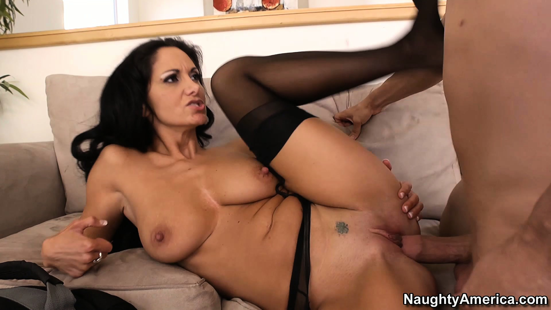 Porno Video of Cougar Ava Addams Convinces Him That She Needs Serviced Again