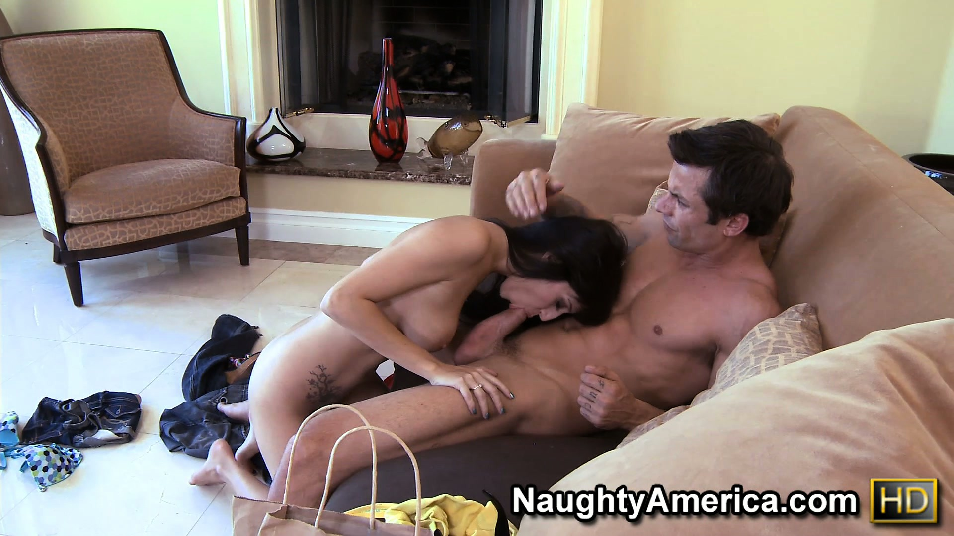 Porn Tube of Attractive Brunette April O'neil Seduces A Young Guy In Order To Fulfill Her Desires
