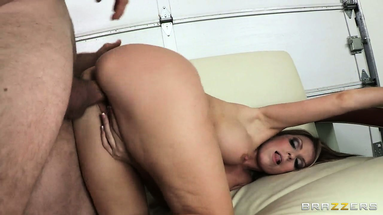 Porno Video of Watch This Blondie Spread Her Big Butt Cheeks And Get Nailed From Behind