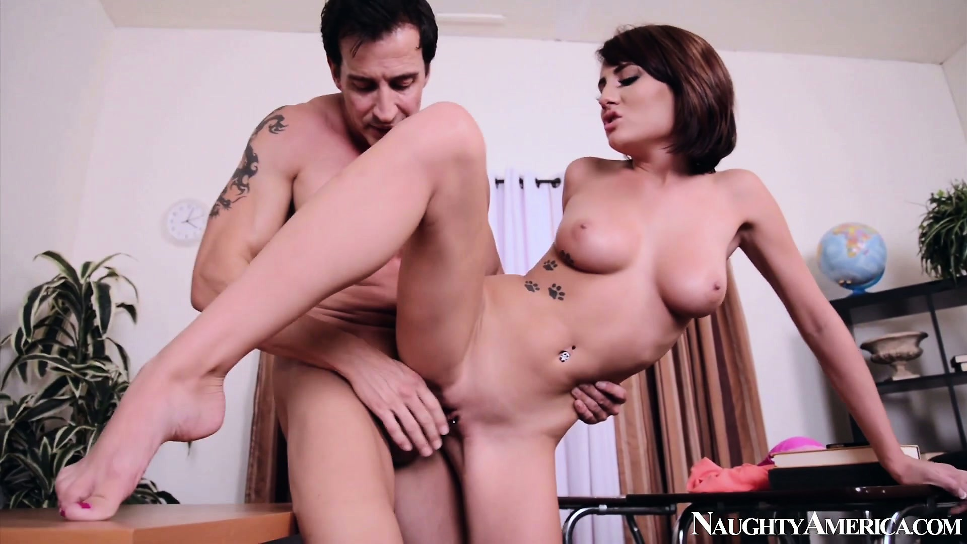 Porn Tube of Chase Ryder Gets Her Bald Pussy Pounded By The Horny Teacher
