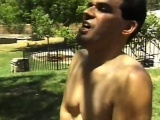 Big Breasted Teen in tub