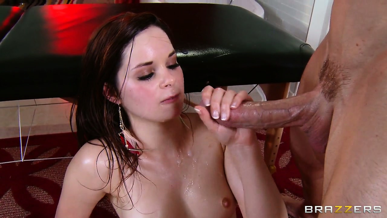 Porno Video of First A Cum Shower, Then A Nice Warm Bath - That's What She Needs!