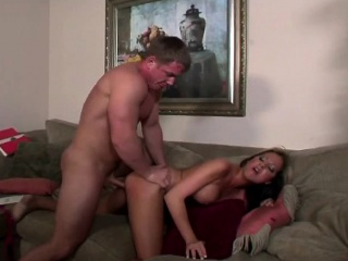 sexy blonde gets cunny fucked and then goes ass to mouth with anal