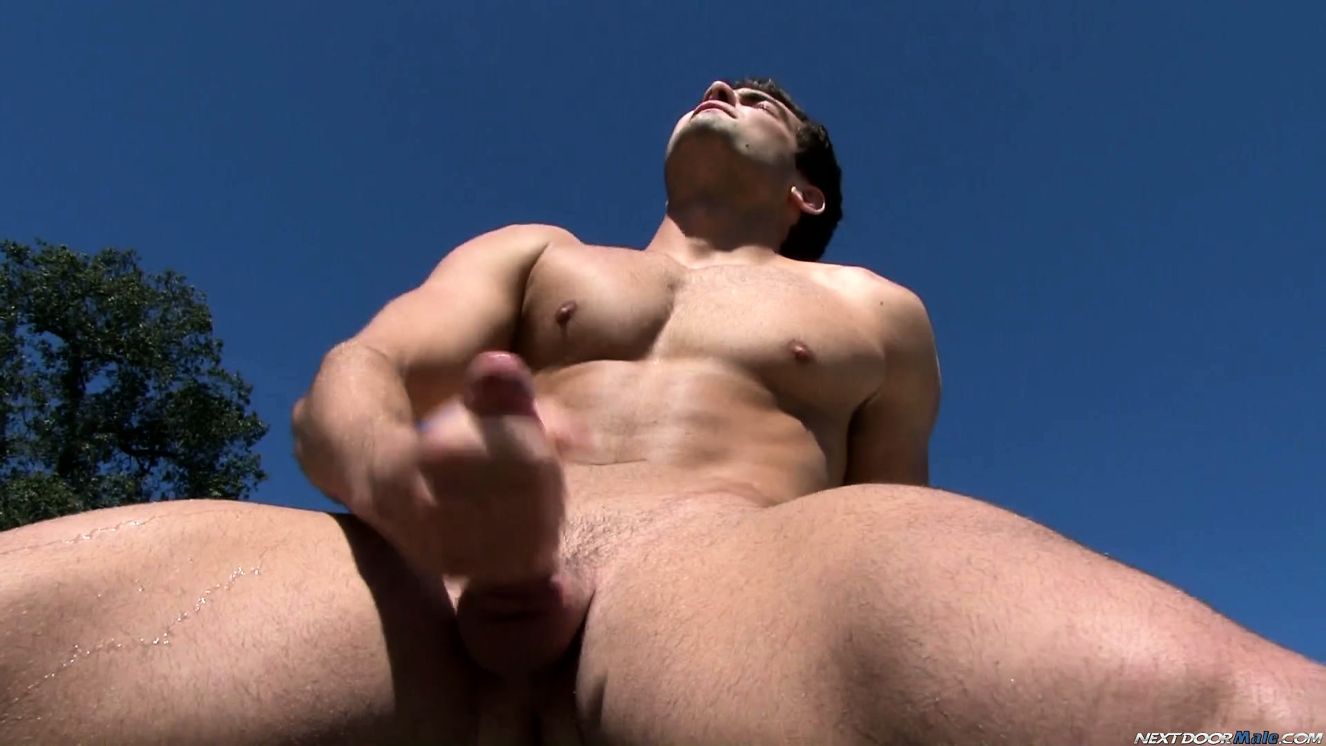 Porno Video of Scotty Dean Sits On The Edge And Gets Serious About Jacking Off