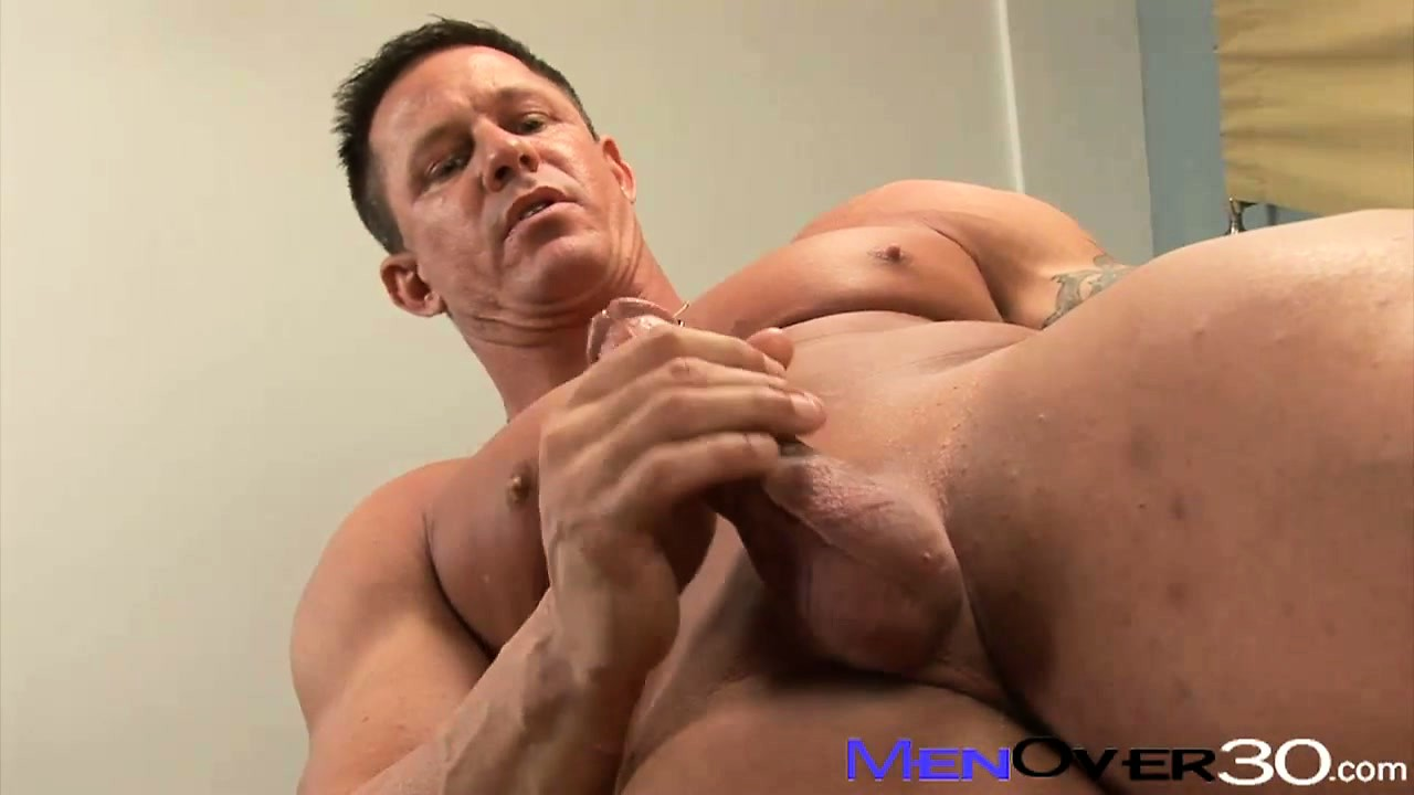 Porno Video of Jock-strapped Daddy Squirts Mayonaise All Over Cock And Fucks A Sandwich