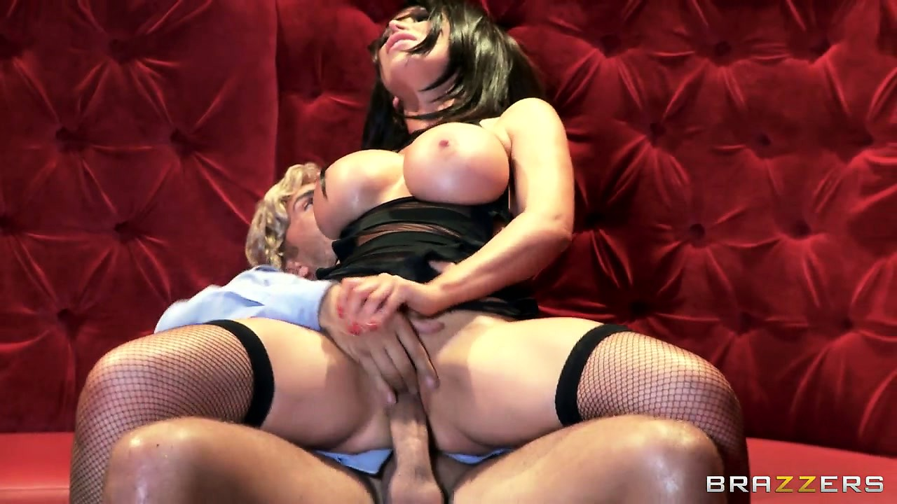 Porno Video of Slutty Brunette Bitch Bounces Her Huge Silicone Tits Getting Fucked
