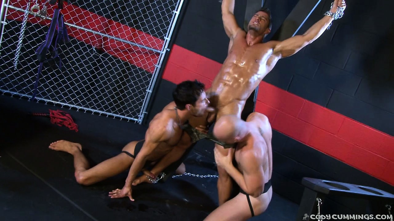 Porn Tube of Single Man Becomes A Victim Of Two Lusty Males' Fantasies And Obsession