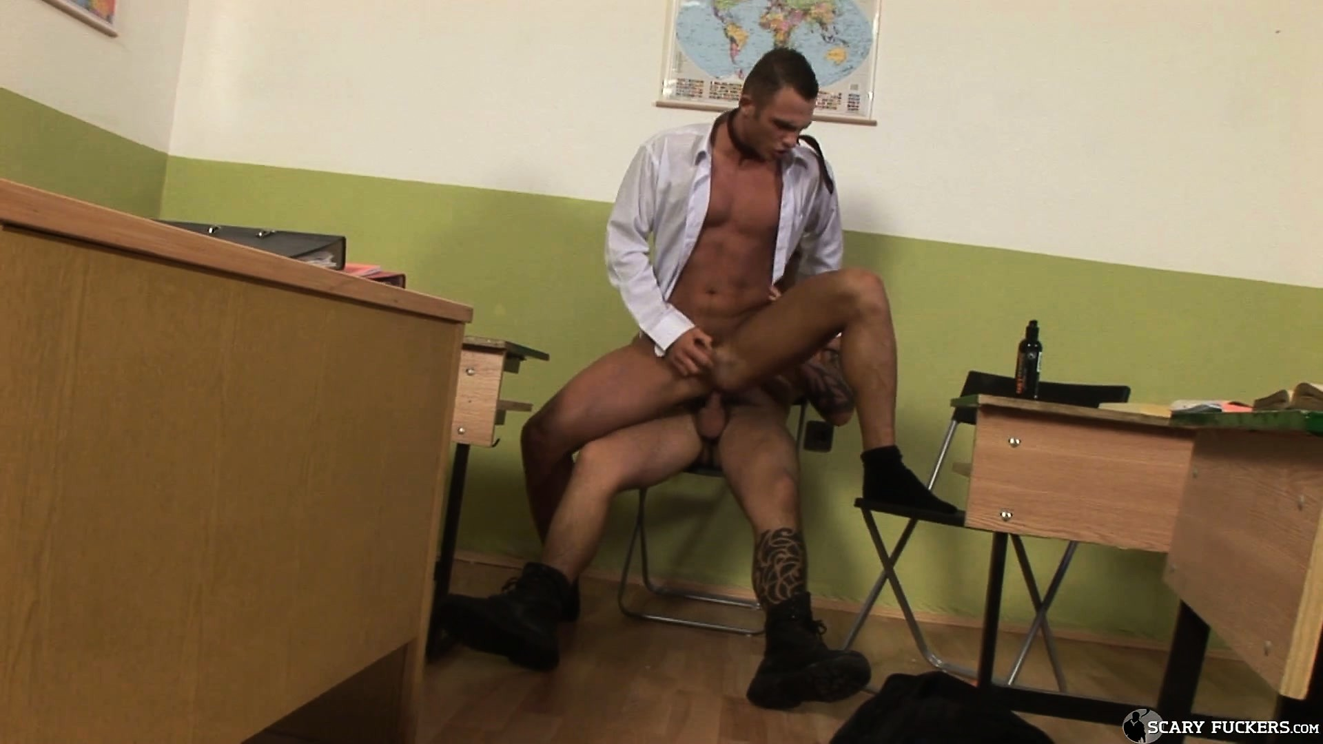Porno Video of The Class Tug Gives The Teacher's Pet A Taste Of His Hard Cock