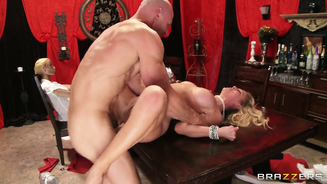 Porno Video of Blonde Milf Gets A Rough Fucking And A Big Facial In Her Kitchen