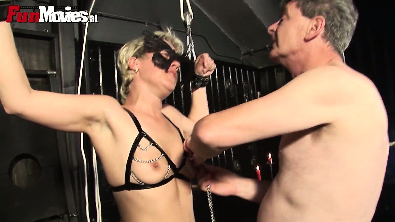 Porn Tube of Slave Gets Tied Up And Tortured With Hot Candle Wax And Nipple Tweaking