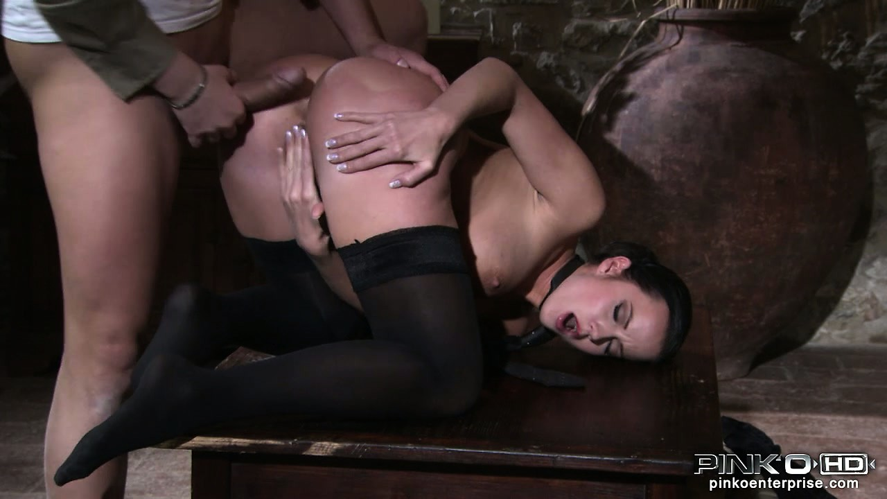 Porno Video of Hot Busty Babe In Stockings Gets Penetrated From The Backdoor