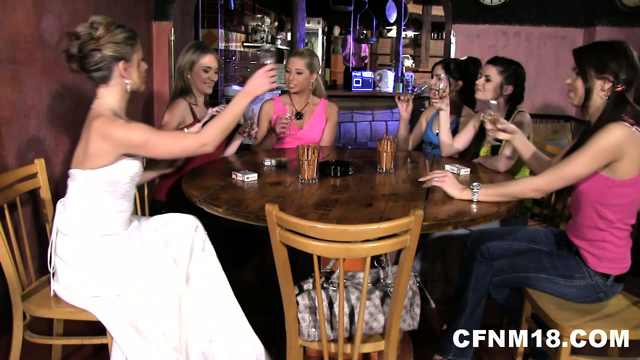 Porno Video of At The Bachelorette Party There Is Lots Of Drinking And Teasing