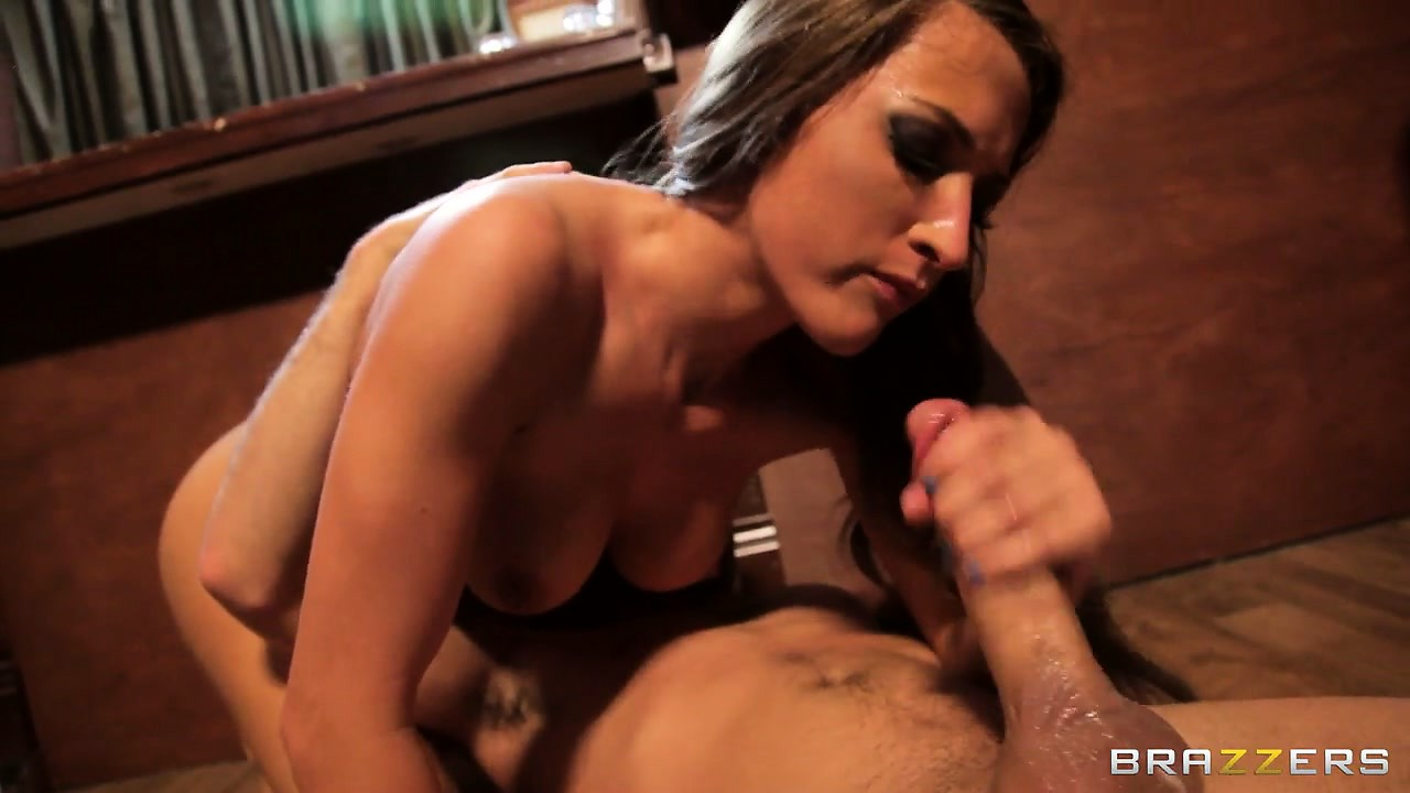Porno Video of Tight Brunette Babe Ruins Her Pussy By Taking A Cock To The Balls