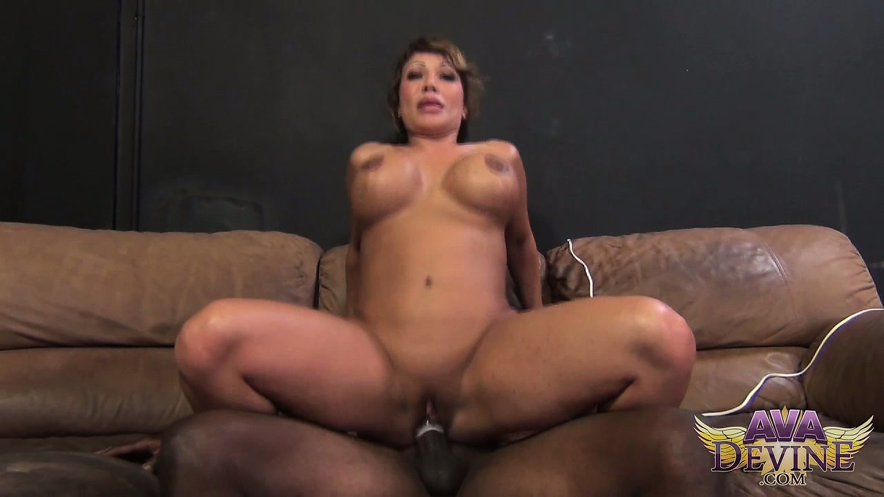 Porno Video of Ava Enjoys Pure Pleasure Getting Fucked Doggy Style And Bouncing On That Black Rod