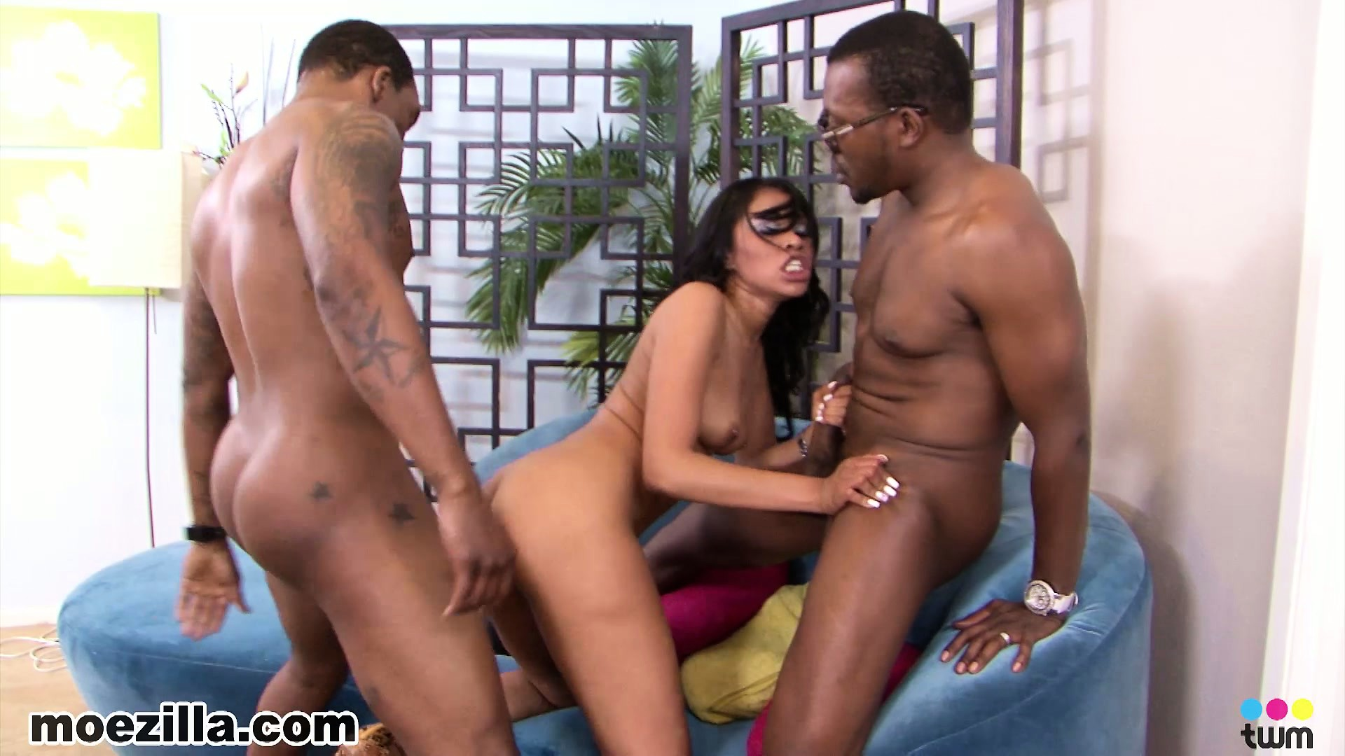 Porno Video of The Boys Take Turns Fucking Yasmine's Tight Pussy And She Can't Get Enough Of It