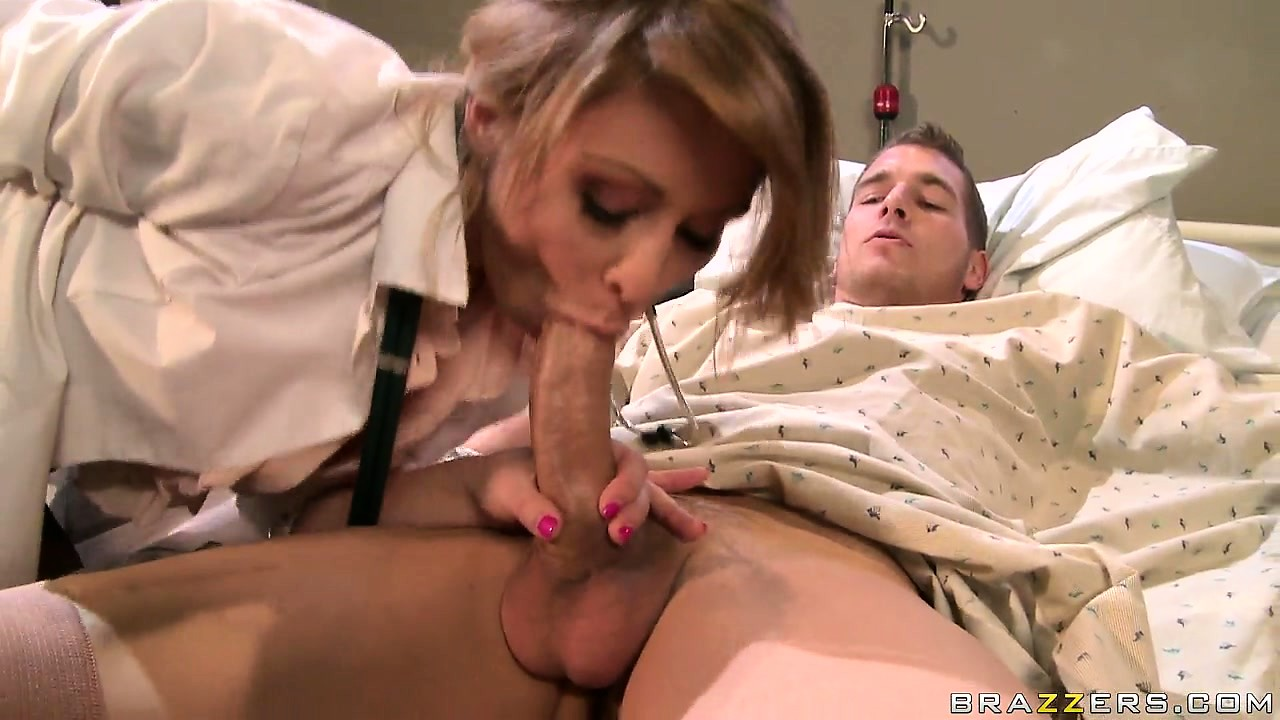 Porn Tube of She's A Busty Doctor Who Loves To Give Her Patients A Physical