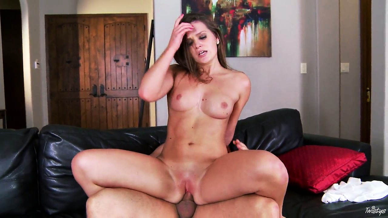 Porno Video of The Voluptuous Gal Is Choking On The Tremendously Big Beaver-cleaver