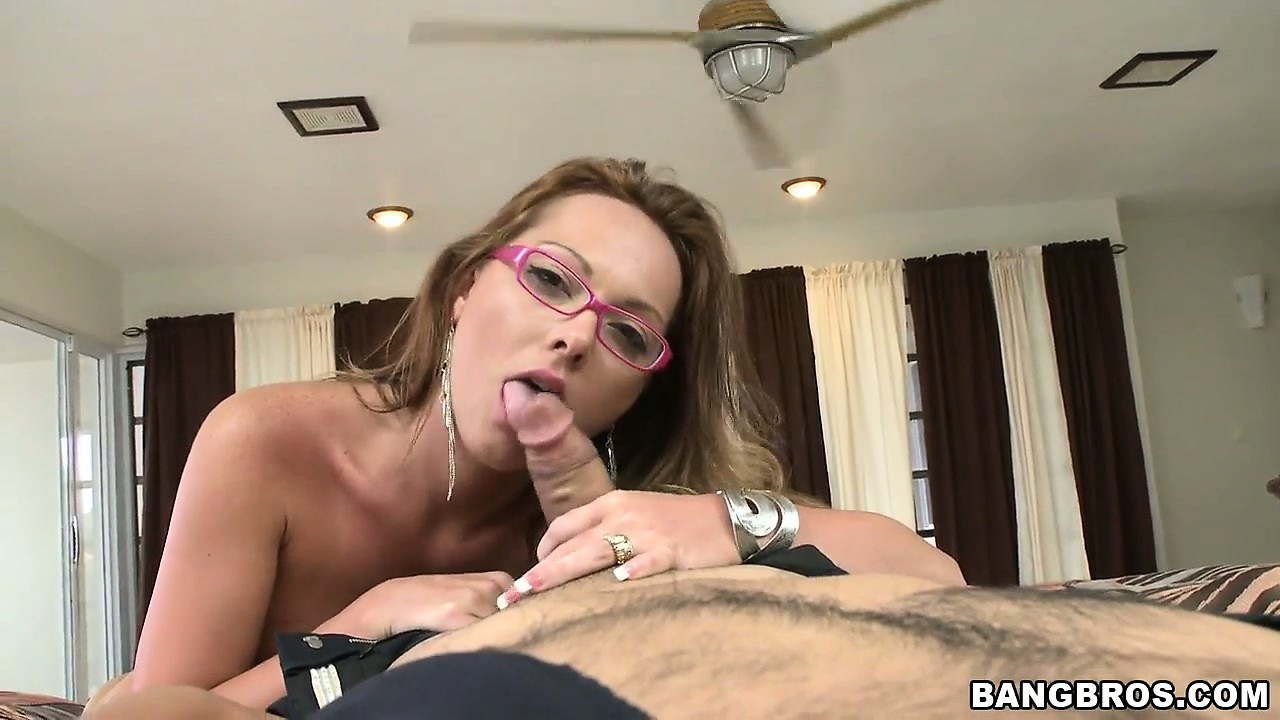 Porno Video of Petite Whore With Pink Glasses Goes Nude To Fuck A Hung Dude