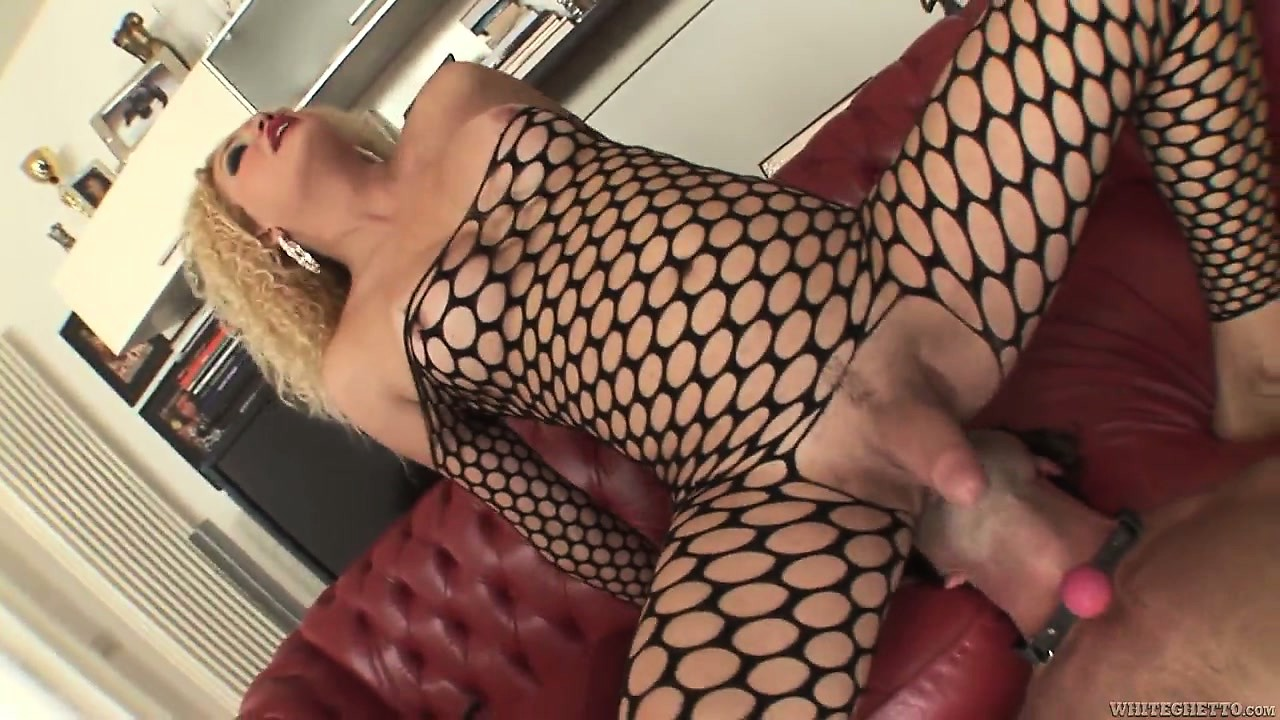 Porno Video of Blonde Shemale Gets Her Ass Licked And Then Pounds His Ass Deeply