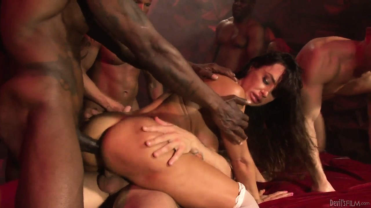 Porno Video of Hardcore Fucking With Double Penetration For The Devils Gangbang