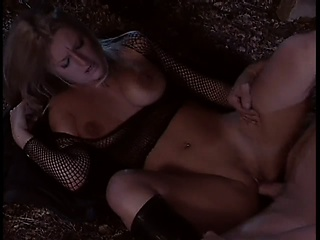 sweet and sexy doxy is having exciting banging with long-haired stud