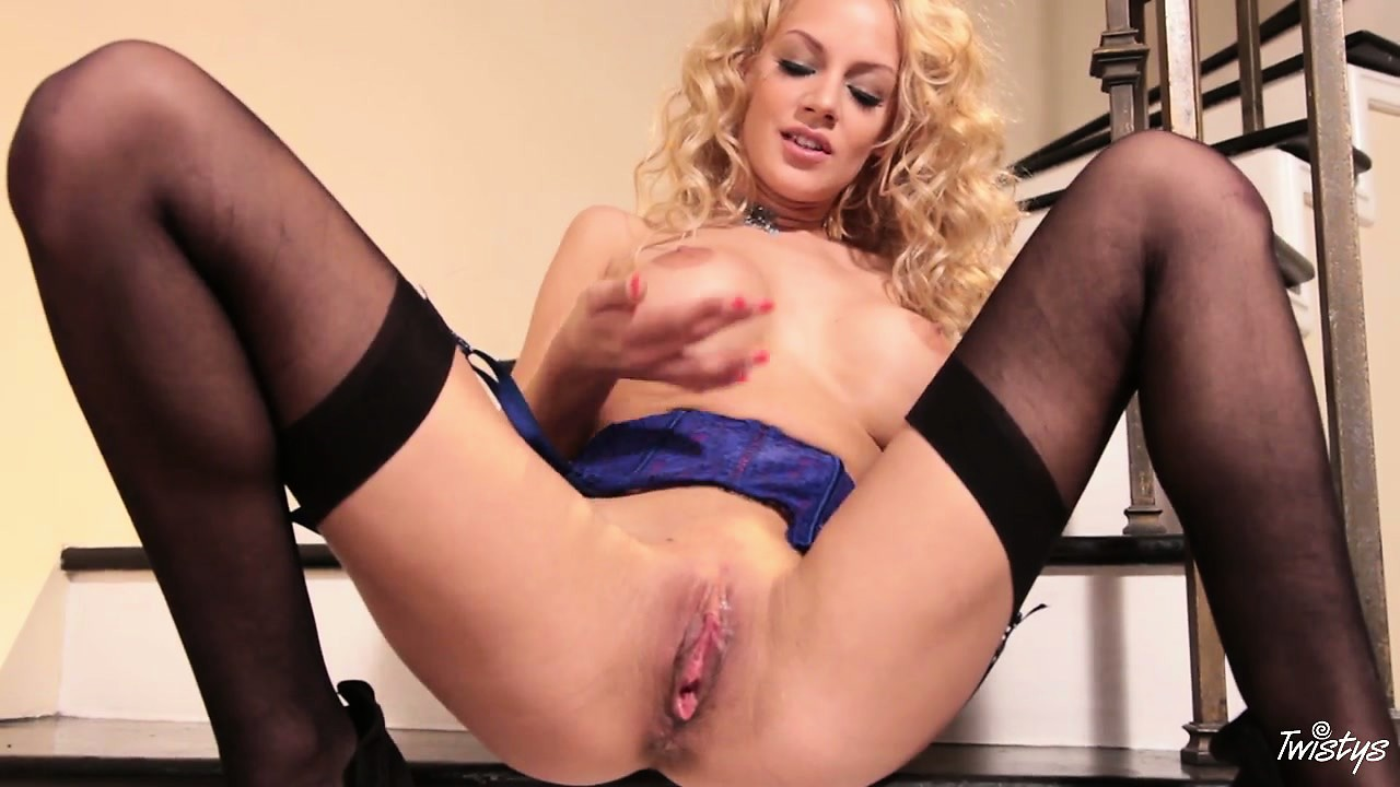 Porno Video of Hot Blonde Babe Has A Juicy Wet Surprise For You Between Her Legs