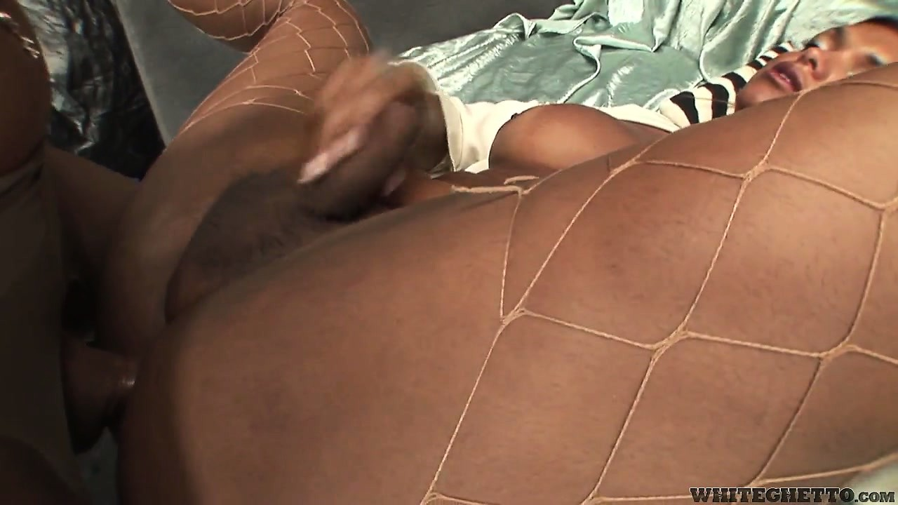 Porno Video of Busty Shemales Drill Some Tight Ass And Munch On Cock As They Fuck