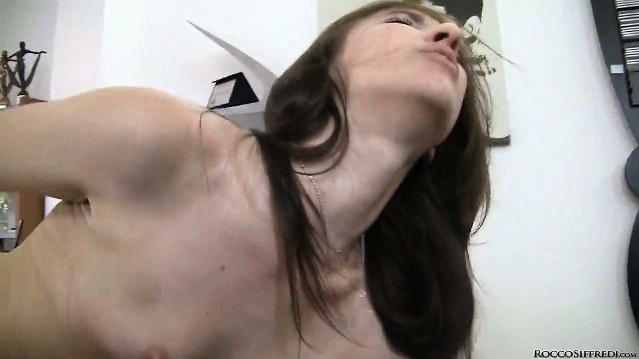 Porno Video of After Making Out With Rocco, The Young Brunette Babe Gets Her Asshole And Pussy Licked