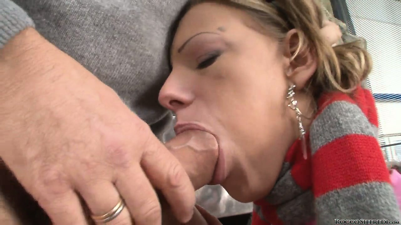 Sex Movie of Two Barely Legal European Babes Fucked Hardcore By Rocco's Hard Cock