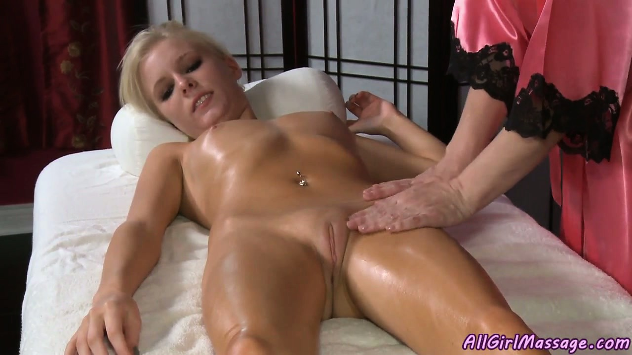 Porno Video of Blonde Goes For A Massage And Gets A Nice Rub, And Some Pussy Action