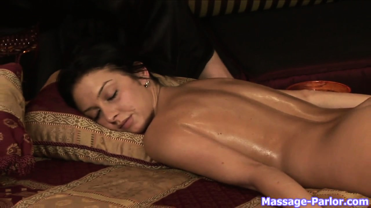 Porn Tube of Ass And Pussy Massage In A Sensual Lesbian Massage Porn Video