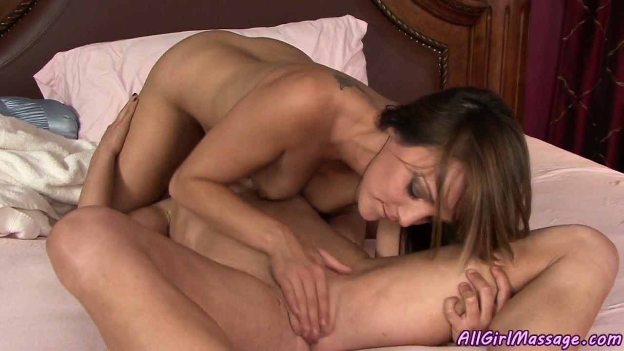 Porno Video of Slim Lesbian Beauty With Very Tight Body Gets Seduced By Masseuse
