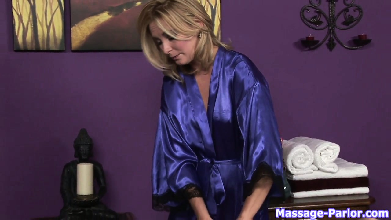 Porno Video of She's A Sexy Masseuse Who Never Wears Anything Under Her Robe
