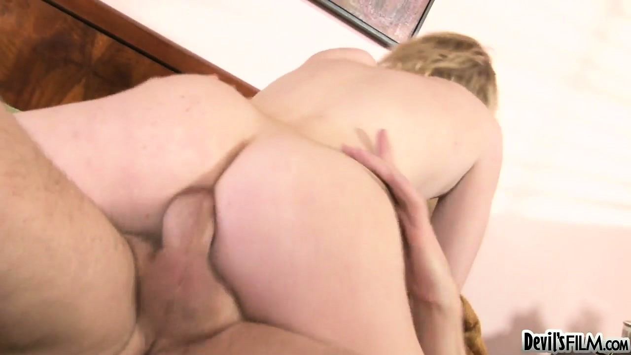 Porno Video of Her Petite Body Trembles As Her Teenage Pussy Takes A Beating