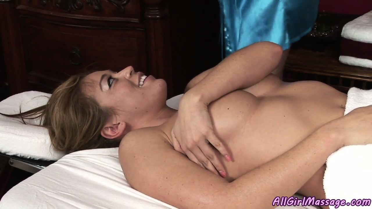 Porn Tube of Her Client Giggles As She Works Her Hands Around Her Sexy Legs