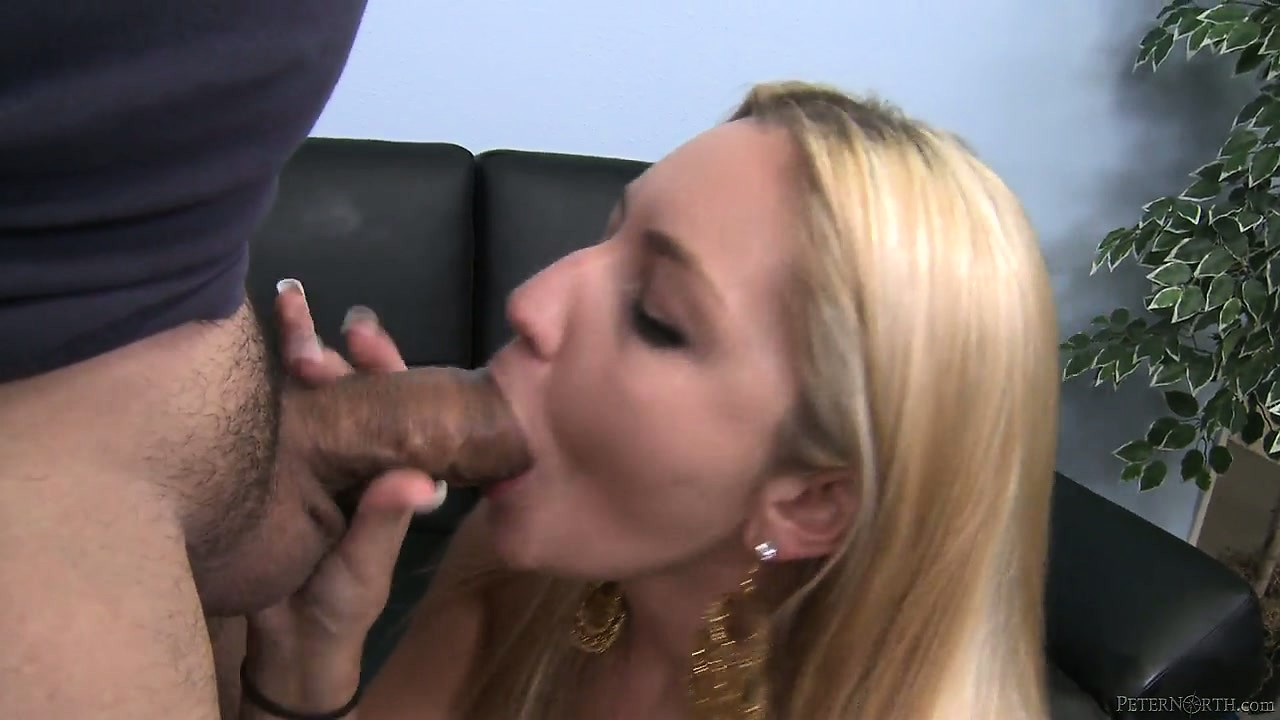 Porno Video of Sexy Blonde Girlfriend Gets On Her Knees To Perform A Hot Pov Blowjob