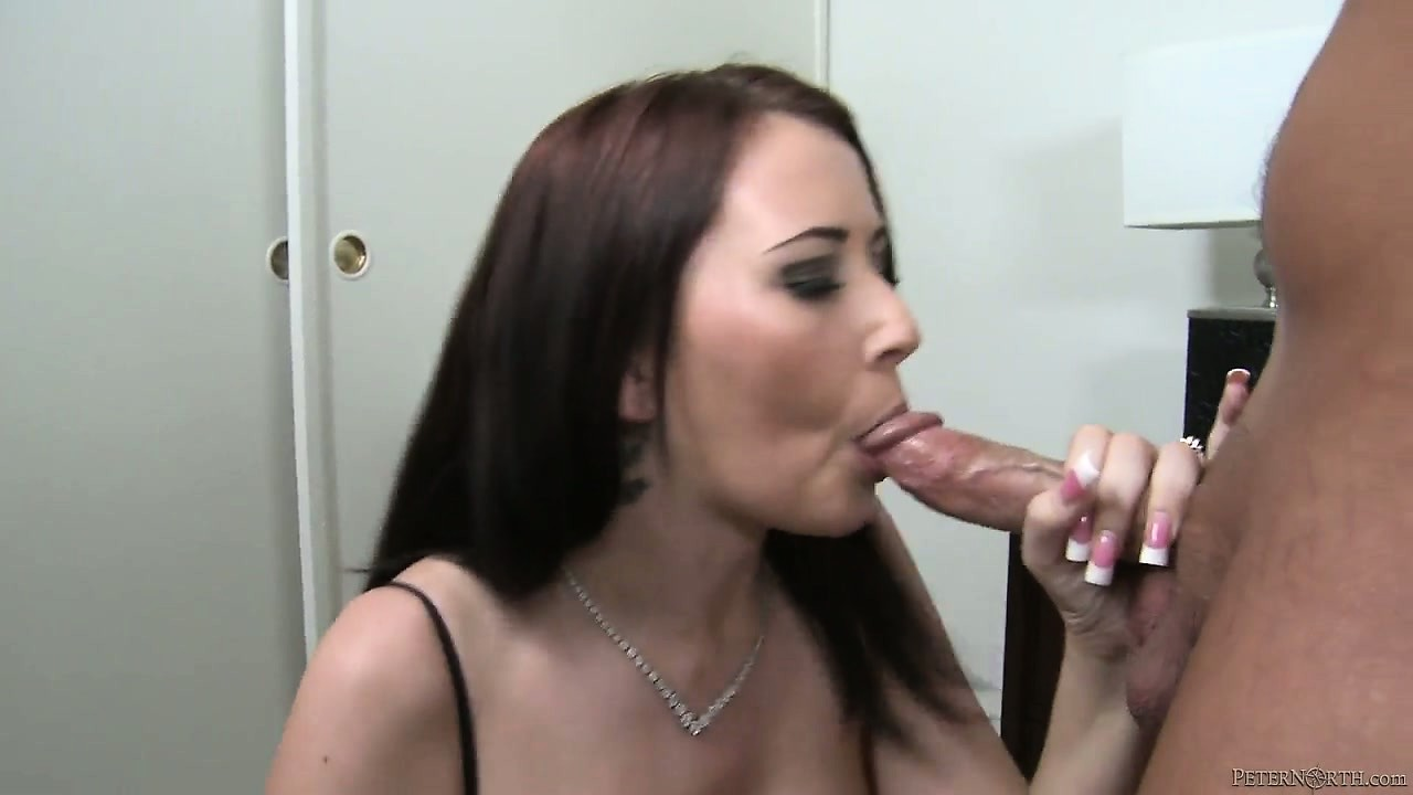 Porno Video of Swallow This Big Cock, Sweet Lady With The Yummy Titties And Long, Dark Hair