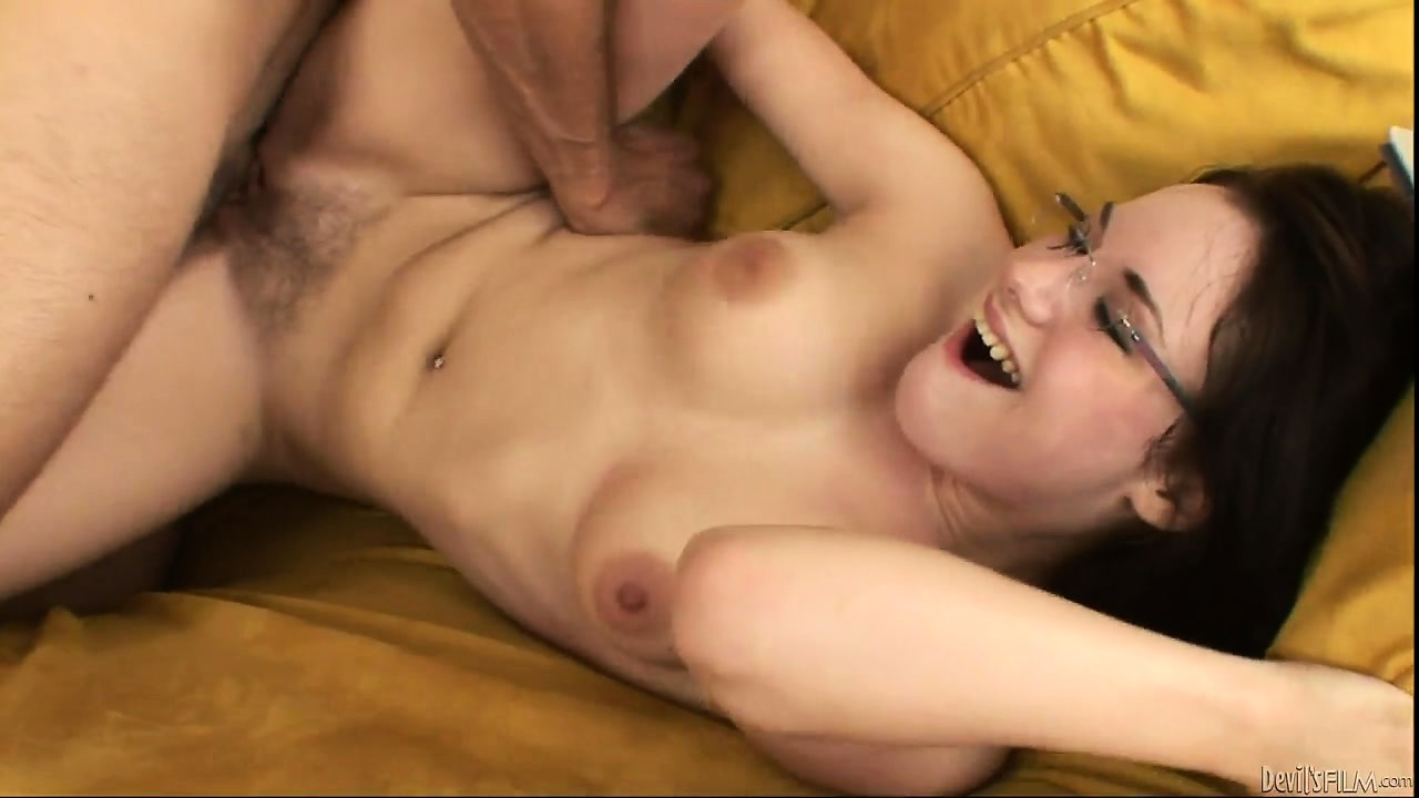 Porno Video of Cute Little Babysitter Likes Sitting That Tight Ass Onto Daddy's Cock