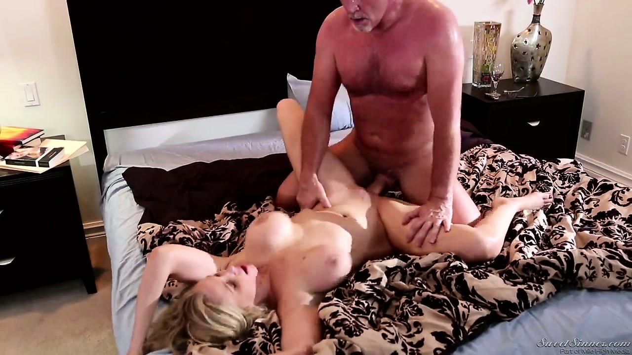 Porno Video of Busty Blonde Milf Takes A Rough Pounding From Her Buff Lover