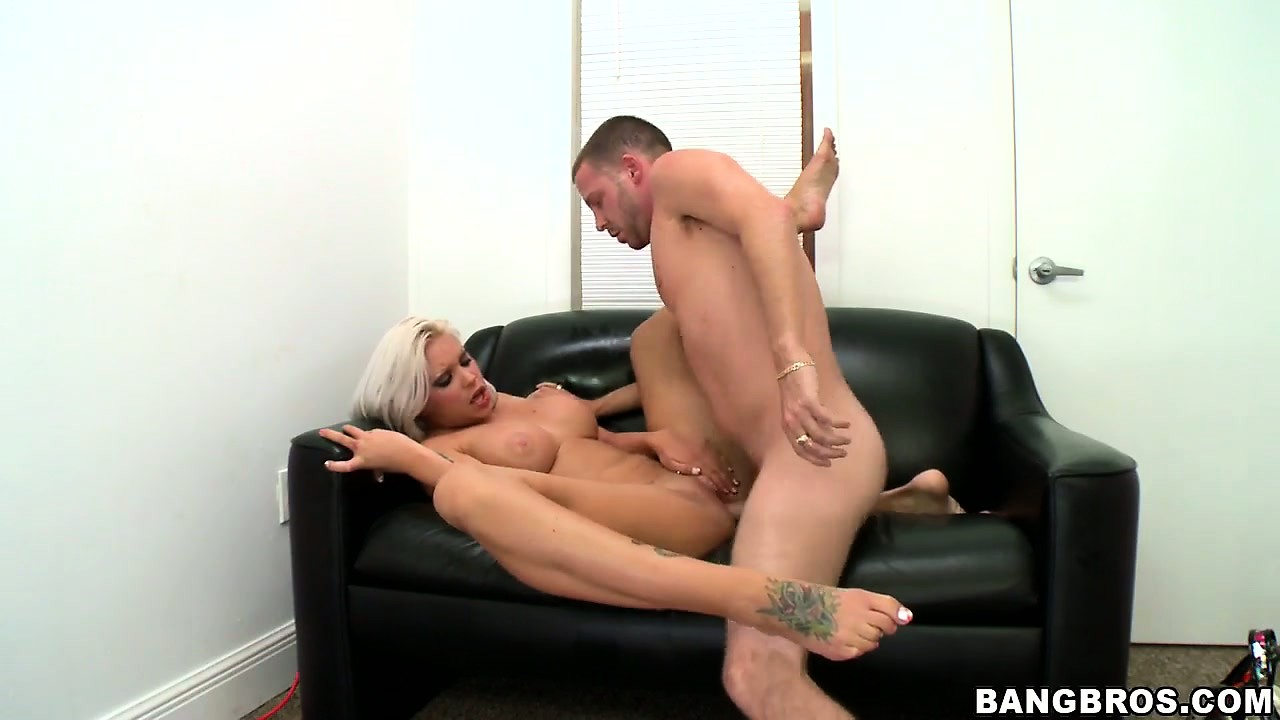 Porn Tube of Platinum Blonde Stripper Hottie Loves Riding A Cock And Getting Herself Finger Fucked